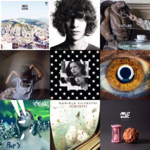 Top 15 italiani - Cover - Album - Classifica - 2016