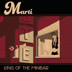 Cover Marti   King of the minibar
