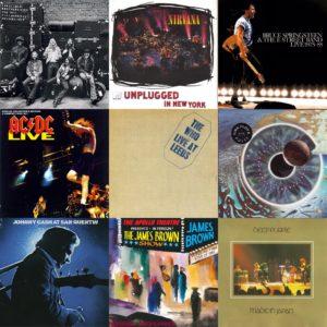20 migliori album live rock